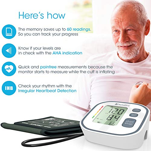 ... BP Machine - Top Rated FDA Approved Electronic BP Monitors - Arterial Home BP Cuff Machines - Tensiometro Digital (Gray): Health & Personal Care