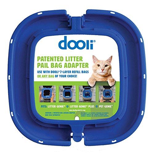 Dooli Litter Genie Compatible Bag Adapter ()