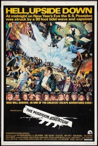 Poseidon Adventure Movie Poster #01 11x17 Master Print ()