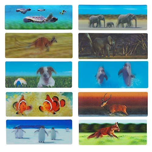 3D Bookmarks for Kids Animal Bookmarks for Men 20 pcs]()