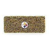 NFL Pittsburgh Steelers Women's Brilyn OTS Headband, Black, Women's