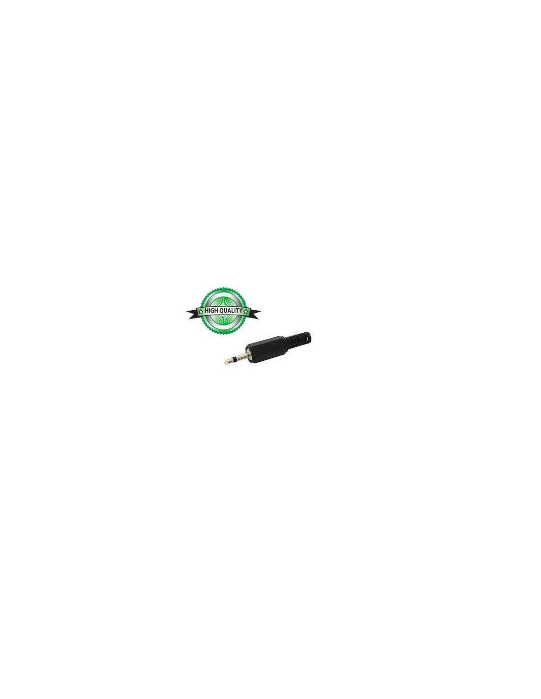 Audio Connectors 610126 Klinkenstecker, Mono, Kunststoff, 2.5 mm VS Electronic Vertriebs GmbH CA001