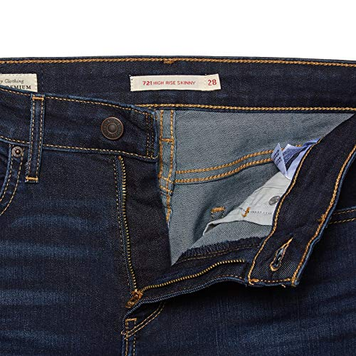 721 Jeans Rise Bleu High Levis Skinny Y7qxSqw