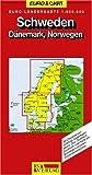 RV Euro-Länderkarte 1:800 000 Schweden - Dänemark, Norwegen