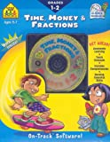 Time, Money and Fractions, School Zone Publishing Interactive Staff, 0887439543