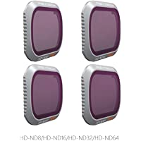 PGY Tech Advanced 4-Pack ND Filter Set for Mavic 2 Pro (ND8/ND16/ND32/ND64)