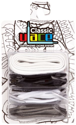 U-Lace - In Line Multi Pack, Stringate unisex, Multicolore(Mehrfarbig (Yanks)), taglia unica