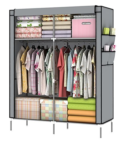 Protect Your Seasonal Clothes Or Daily Accessories With This Portable  Closet. It Makes A Great Addition To Any Home With Storage Issues.