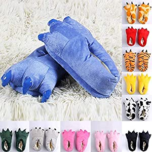 Sikye Family Shoe,Men Women Kid Funny Animal Paw Monster Claw Shoe Winter Warm Indoor Slipper