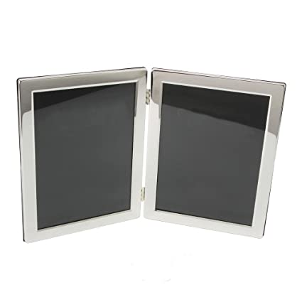 Amazon.com - Silver Plated Luxury Hinged Double 8\