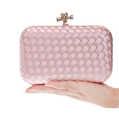 Tisses Wedding pink Femme Ladies Sac Embrayage Bridale Prom Soiree Parties NAOMIIII PxfTwpqw