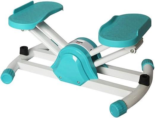Twister Stepper Máquina elíptica interior escalera paso a paso fitness cardio del entrenamiento del ejercicio del instrumento del ejercicio Máquina ejercicio Cardio Trainer Torsión Acción Para la ofic: Amazon.es: Hogar