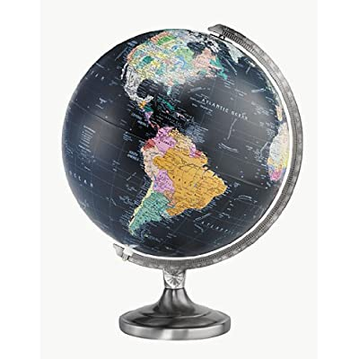"Replogle Globes 12"" Orion Globe, Black: Replogle Globes: Toys & Games"