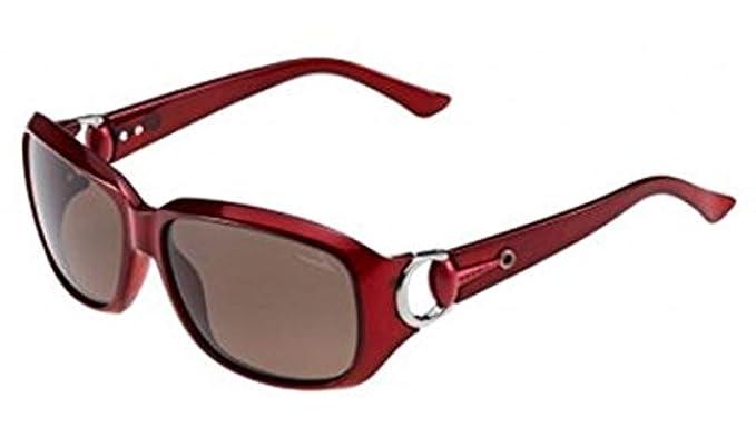 f2f26f0a3ba5 Gucci Women s 3610 Bordeaux Frame Dark Mauve Lens Plastic Sunglasses   Amazon.co.uk  Clothing