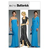 Butterick Patterns B4731 Misses'/Misses' Petite Shrug and Dress, Size AA (6-8-10-12)