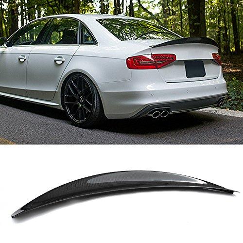 HK style Carbon fiber rear spoiler for Audi S4 B8.5 B8 2013-2016