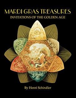Mardi Gras Treasures Costume Designs Of The Golden Age Postcard Book Schindler Henri 9781565549104 Amazon Com Books