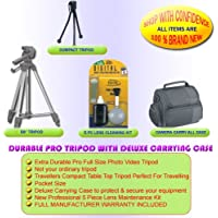 TRIPOD & CASE FOR NIKON SLR CAMERA COOLPIX D50 D70 D100