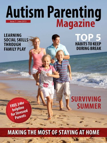 Autism Parenting Magazine Issue 8 - Vacation - The Big Green Monster: Surviving Summer, Making the Most of Staying at home