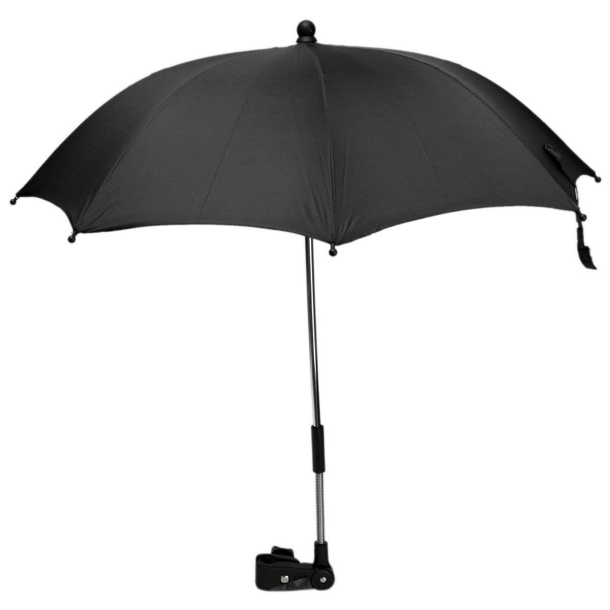 Pushchair Baby Stroller Umbrella and Holder UV Rays Rain Sun Canopy for Any Pram Pushchair Stroller Buggies - Adjustable Direction Babies and Infants Protect Accessories Yosoo yosoo-uk518bbsun