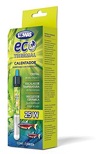 Lomas FL8601 Calentador Sumergible con Termostato Ecothermal, 25W