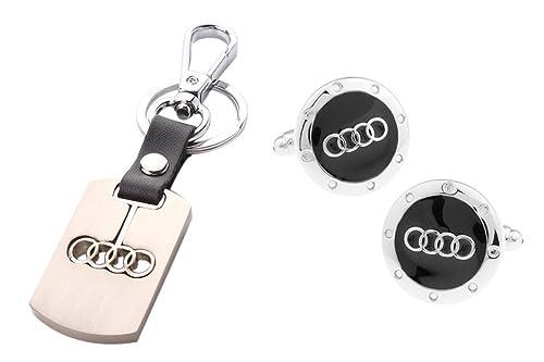 Amazoncom Promotioneer Mens Audi Logo Symbol Fashion Stainless - Audi symbol