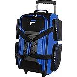 Fila 22' Lightweight Carry On Rolling Duffel Bag,  Blue,  One Size