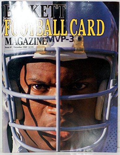 Cover Beckett Football (Beckett Football Card Magazine - Issue 1 (November 1989): Bo Jackson Cover! (Single Issue Magazine))