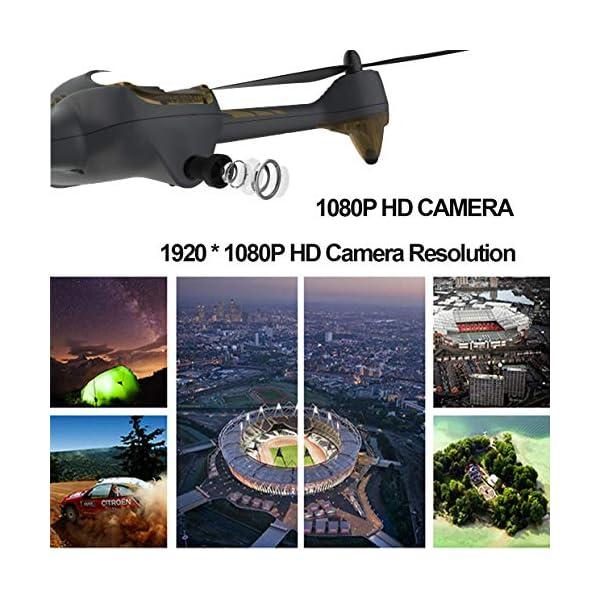 Hubsan H501S X4 Brushless Droni GPS 1080P HD Fotocamera FPV con H906A Trasmettitore Nero PRO Versione(2 batterie di Droni) 7 spesavip