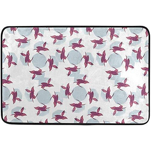 Floor Screen China - Staropor from Silk Screen Area Rug Carpet Non-Slip Floor Mat Doormats for Living Room Bedroom 23.6x15.7 inches