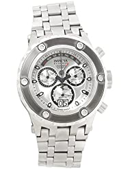 Invicta Mens Subaqua Swiss Quartz Stainless Steel Casual Watch, Color:Silver-Toned (Model: 90118)
