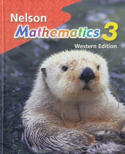 Nelson Mathematics 3: Student Text, Western Edition