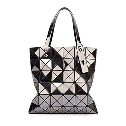 Rhombus à Lady Mode Pliant Portable Grey Sac Sac Bandoulière Géométrique KYOKIM 1wa44