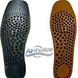 AIRTHOTICS Shoe Insoles - Supportive, Comfortable, Professional Grade Foot Support That Make Walking a BREEZE, Perfect for Athletes, Supports Knee Pain, Back Pain, Foot Pain, Cut to Size (Set of 2)