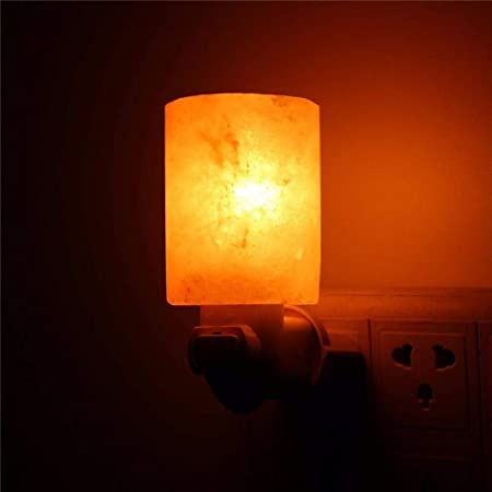 EMOHKCAB 15w Luz Nocturna de Sal Lámpara de Cristal Natural ...