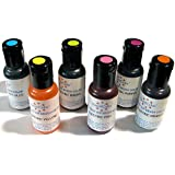 Set de 6 colores Airbrush AmeriColor AmeriMist Colores Electric Ultra Bright (6x19ml)