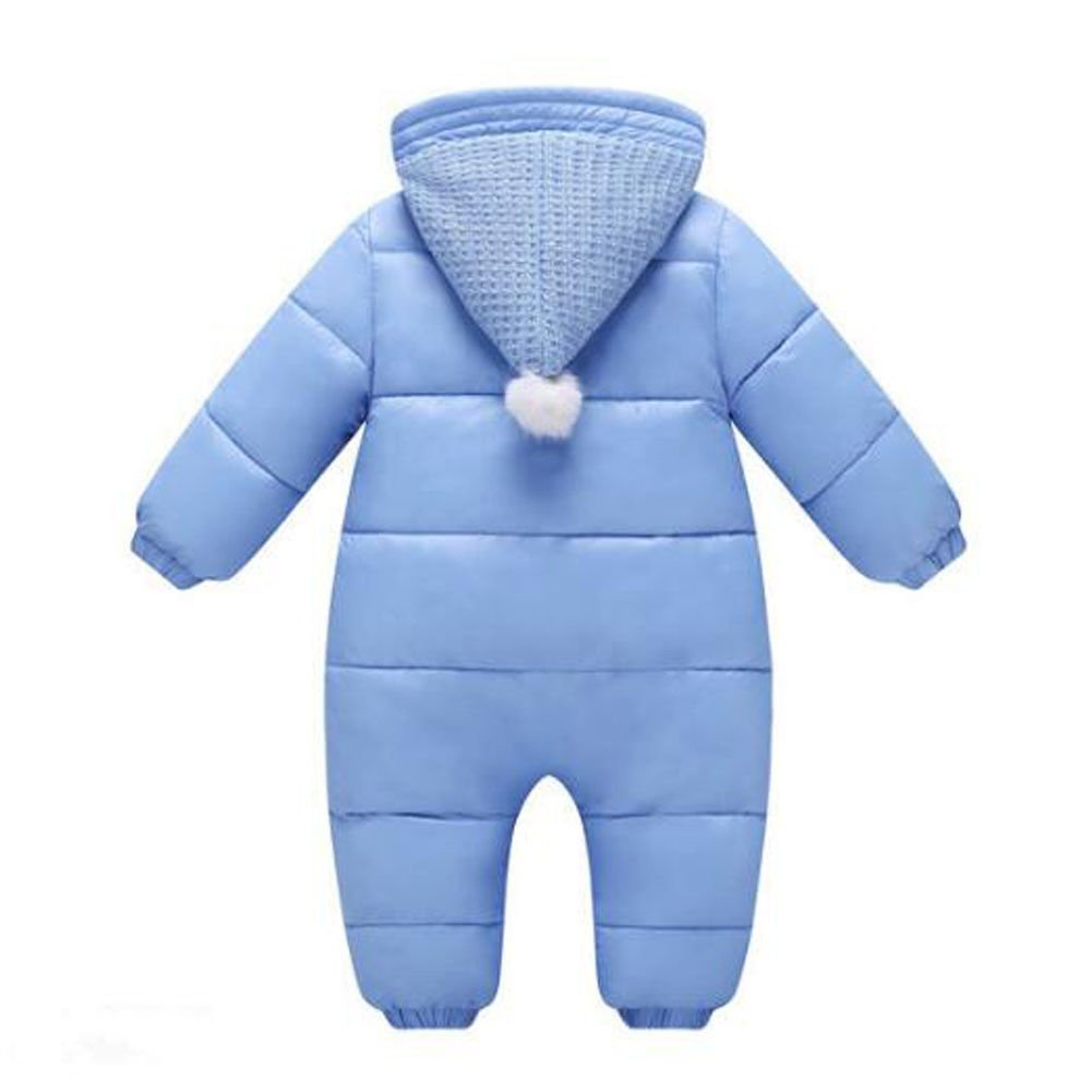 fe89107ca Zhuhaixmy Baby Boys Girls Thicken Kids Rompers Hoodie Warm Jumpsuits ...