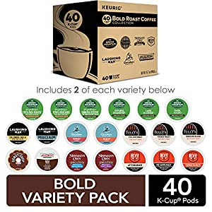 Green Mountain Coffee Roasters Decaf Coffee Variety Pack, Single-Serve Keurig K-Cup Pods, 22 Count