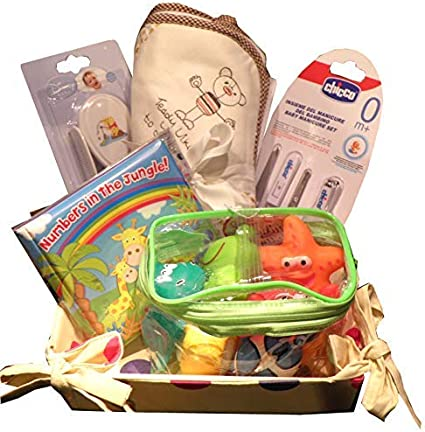 Baby Birth Gift Hamper Bath Time Gift Toy /& Care Set Perfect Baby Shower Maternity Leave Gift