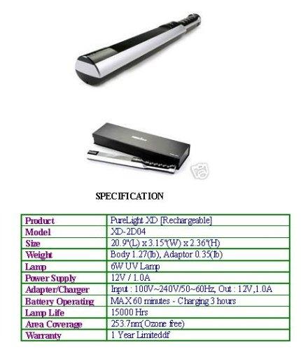 Amazon.com: purelight uv-light Varita Esterilizador ...