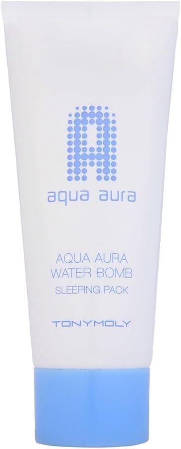 TONYMOLY Aqua Aura Water Bomb Sleeping Pack 120ml by TONYMOLY: Amazon.es: Belleza