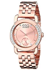 ESQ Movado Women's 07101464 Classica Analog Display Swiss Quartz Rose Gold Watch