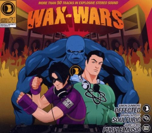 CD : Various Artists - Wax-Wars