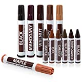 kitchen paint colors with maple cabinets  Furniture Markers Touch Up Repair System - 12Pc Scratch Restore Kit - 6 Felt Tip Wood Markers, 6 Wax Stick Crayons | Colors: Maple, Oak, Cherry, Walnut, Mahogany, Black