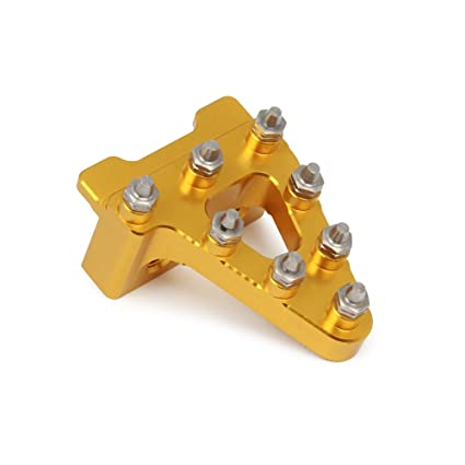 CNC Motorcycle Brake Pedal Lever Step Plate Tip for Honda CRF50 XR50 Pit Bikes