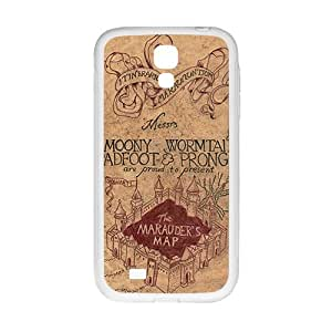 Harry Potter map Phone Case for Samsung Galaxy S4 Case