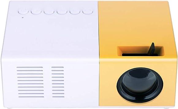 Opinión sobre Tonysa - Mini proyector de Cine en casa portátil LED, 1080P HD Home Theater proyectores, soporta HDMI AV VGA USB Micro SD para entretenimientos/Cine en casa/Aire Libre, etc.