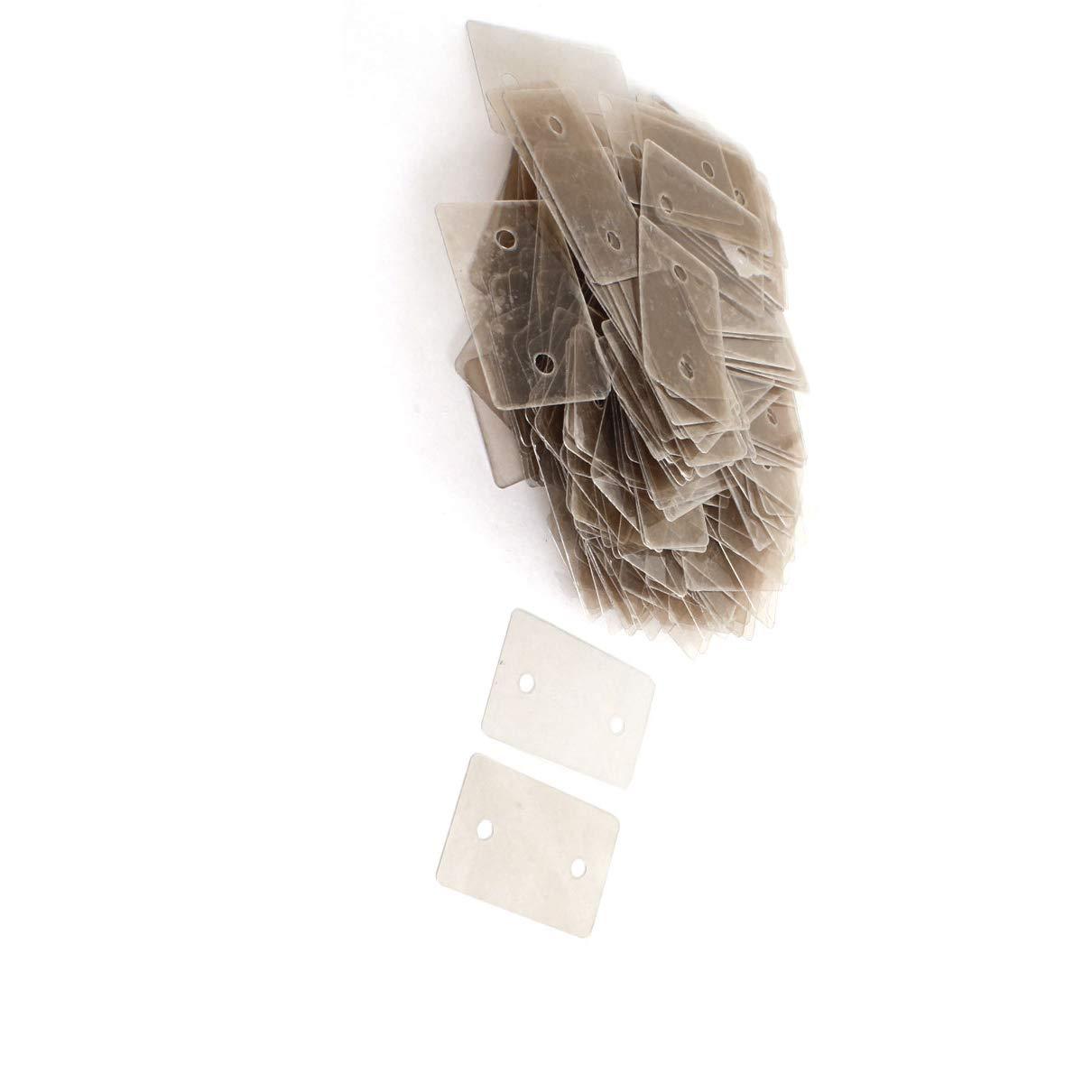 Aexit Reemplazo de lámina aislante de mica de 200 piezas 24 mm x ...