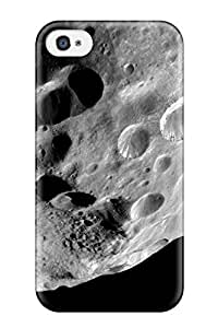 High Grade Lisa E Murphy Flexible Tpu Case For Iphone 4/4s - Planets