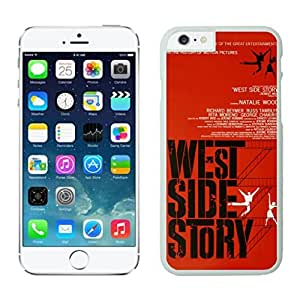 NEW DIY Unique Designed Case For Iphone 6 West Side Story iphone 6 White 4.7 TPU inch Phone Case 436